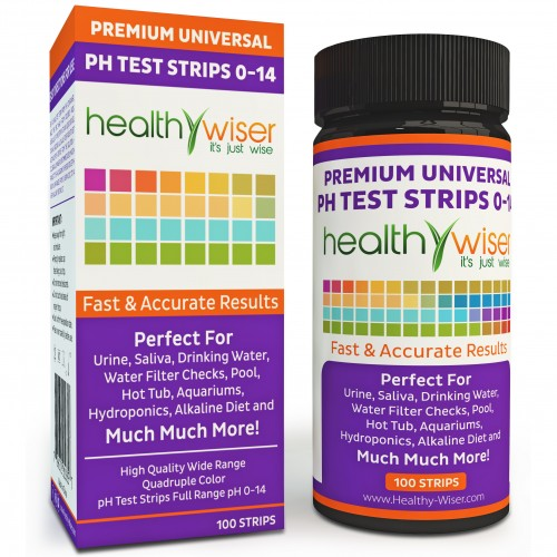 Premium Universal pH Test Strips (cylinder container)